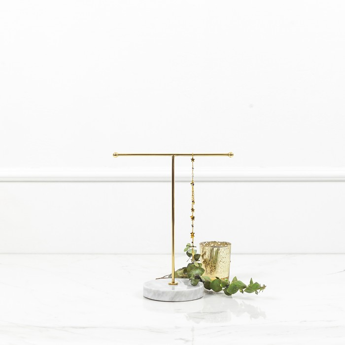 Jewelry Stand with White...