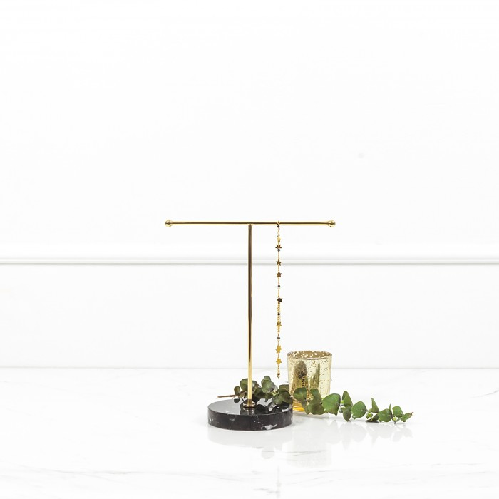 Jewelry Stand with Black...