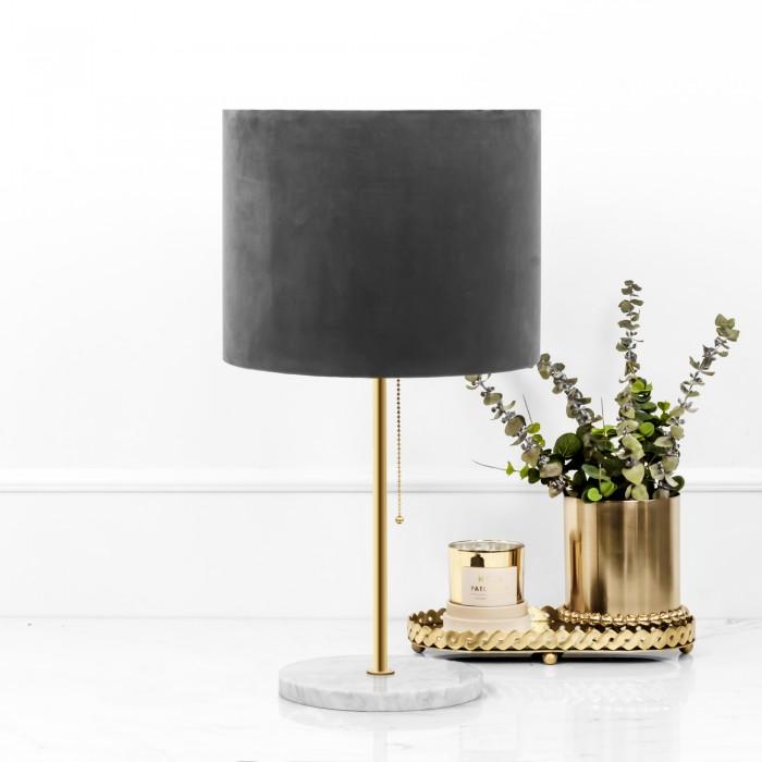 Biała Lampa Marmurowa