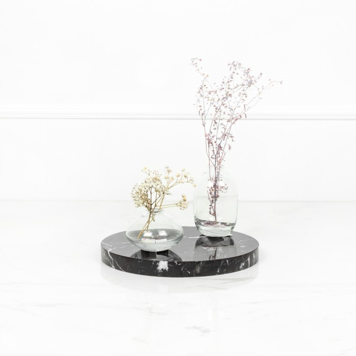 Black Marble Coaster Small