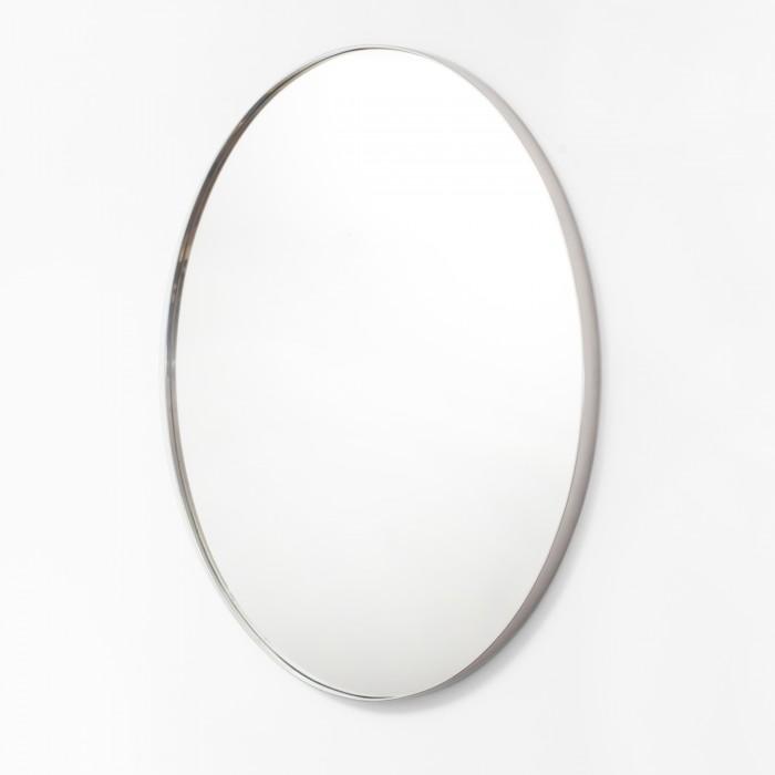 Okrągłe Lustro 100cm - chrom